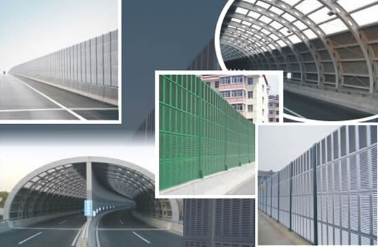 High Noise Protection Fence Barrier