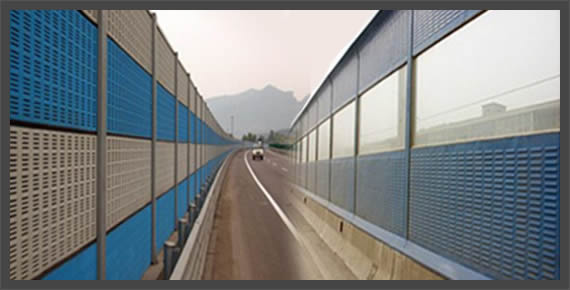 Freeway Noise Barriers Highway Noise Barrier Road Noise