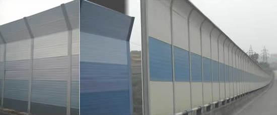 Road Acoustical Sound Barriers