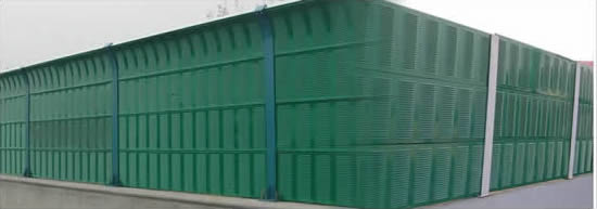 Sound Barrier Wall Acoustic Fencing