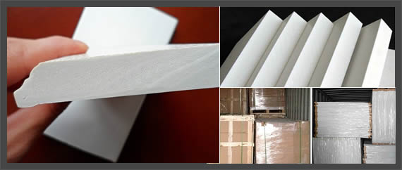 40mm thick Sound insulation white PVC foam sheet